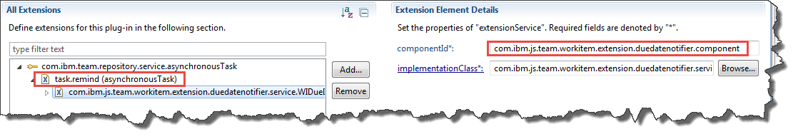 Asynchronous Task Configuration Override Property